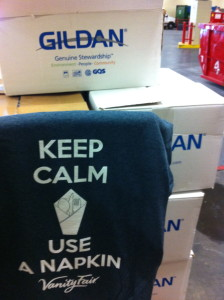 Keep Calm and Use A Napkin