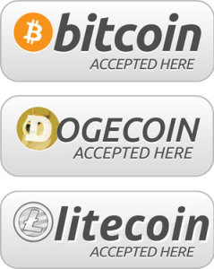Digital Currency Accepted Here