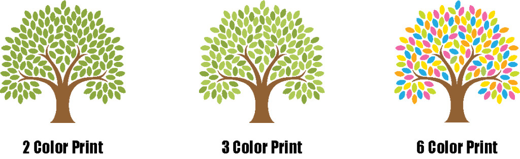 Examples of Colors for Screen Printing